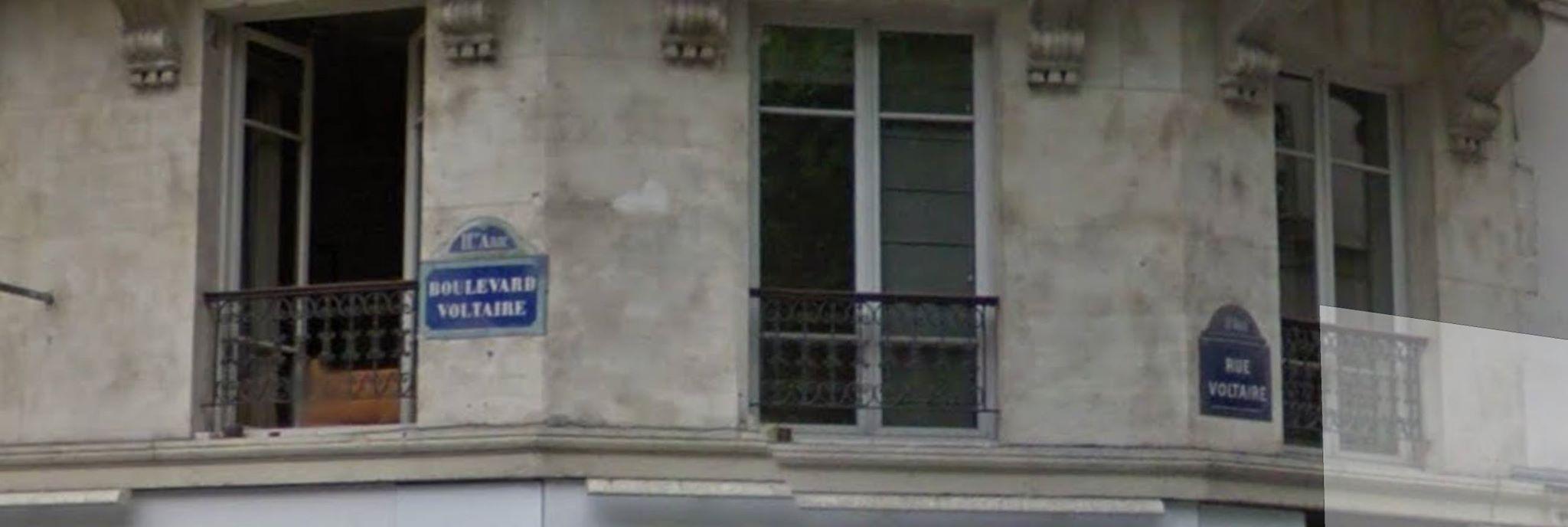 Boulevard Voltaire × Rue Voltaire